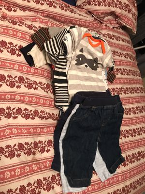 Baby Boy Clothes (0-3mo) for Sale in OCEAN BRZ PK, FL