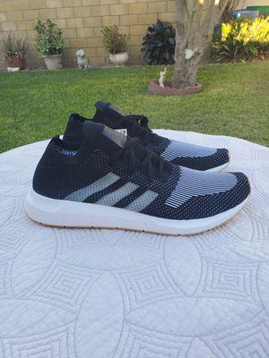 Adidas men's shoes primeknit size 13 black new for Sale in La Mirada, CA