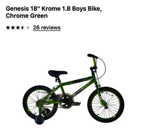 "New 18"" Boy bike needs to be assemble for Sale in Adel, GA"