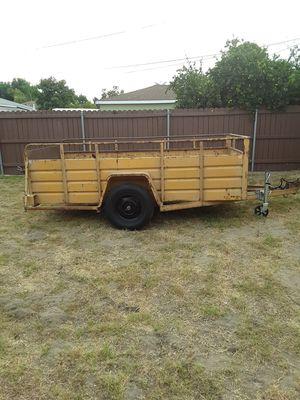 Utility trailer heavy duty 1 axle. for Sale in LAKE MATHEWS, CA
