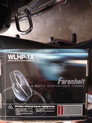 Farenheit WLHP-1X wireless infared stero headphones for Sale in Belleville, MI