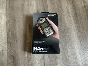 Zoom H4N Audio Recorder for Sale in San Diego, CA
