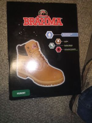 BRAHMA WORK BOOTS MENS SIZE 12 for Sale in Moreno Valley, CA