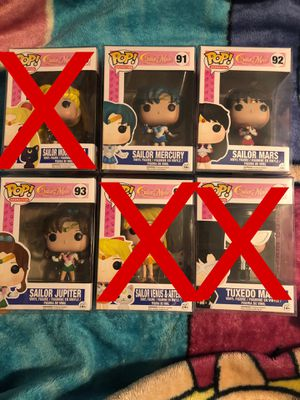 Funko Pop! Sailor Moon Set for Sale in Norwalk, CA