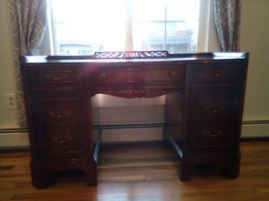 Antique wood desk and dresser for Sale in Denver, CO