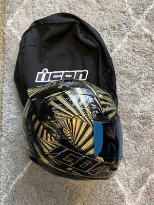 Icon airmada spaztyk large motorcycle helmet for Sale in Orlando, FL