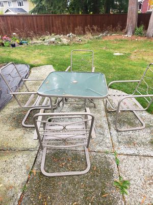 Outdoor patio furniture for Sale in Lynnwood, WA