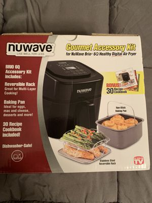 Nuwave Gourmet Accessory Kit 6Q for Sale in Dundee, MI
