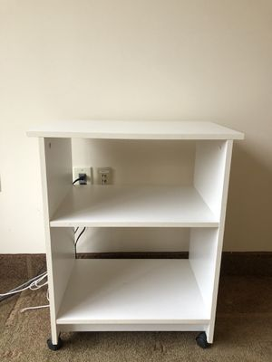 White Bookcase Cabinet for Sale in Short Hills, NJ