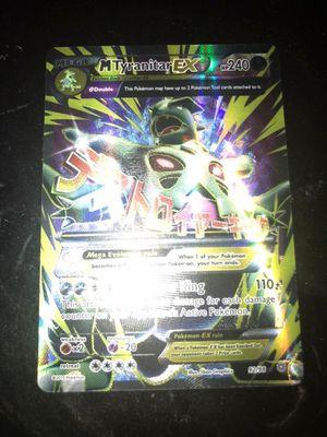 Pokemon card Mega tyranitar 92/98 for Sale in Fresno, CA