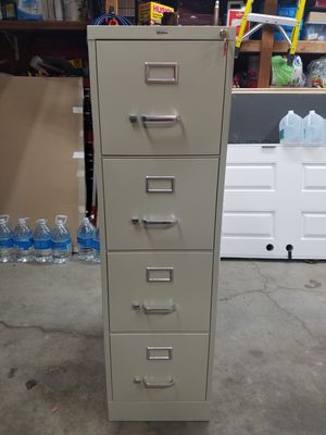 File Cabinet - 4 Drawer, Letter Size, with a Lock! for Sale in Martinez, CA