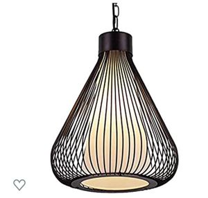 Modern Wrought Iron Pendant Lighting, for 2 for Sale in Philadelphia, PA