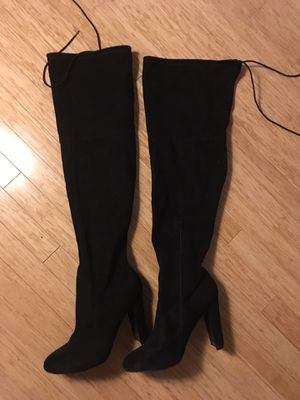 Thigh High Boots - Size 11 for Sale in Trenton, NJ