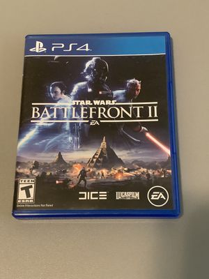 Star Wars BATTLEFRONT II - PS4 for Sale in Cary, NC