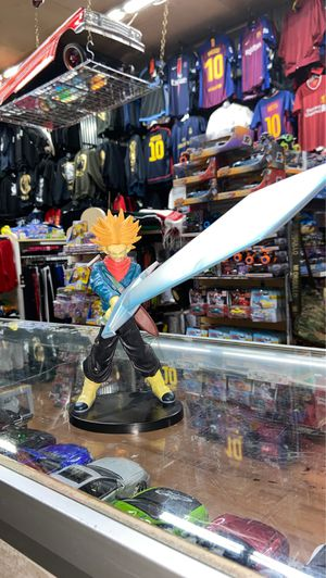 Dragon Ball Z Super Saiyan Trunks with Big Sword Final Hope Slash for Sale in Yonkers, NY