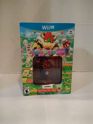 Mario party Game + amibo for Wii u for Sale in Kirkland, WA