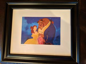 Disney Framed Beauty and the Beast Photo for Sale in Los Angeles, CA