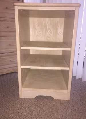 Chest of drawers and matching nightstand/shelf for Sale in West Palm Beach, FL