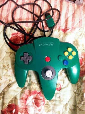 Green Nintendo 64 controller for Sale in Imperial, MO