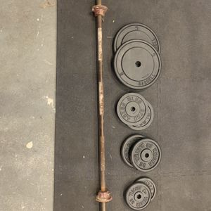 200lbs Weight Set for Sale in Lake Villa, IL
