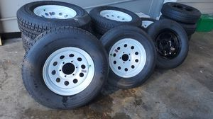 Brand new trailer tires with the rims. for Sale in Land O' Lakes, FL