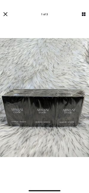 New sealed 12 pack of armani code spray samples vials for Sale in New Square, NY