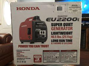 HONDA GENERATOR EU2200i for Sale in Santa Fe Springs, CA