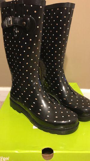 Womens Rain Boots Size 7 for Sale in Parkton, NC