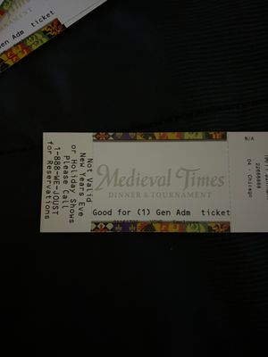 Medieval Times tickets for Sale in Elgin, IL