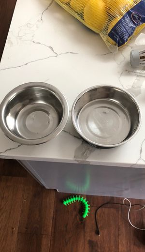 Cat dog bowls for Sale in Milwaukie, OR