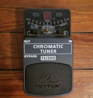 Behringer tuner pedal for Sale in Columbus, OH