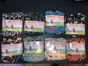 NEW Newborn Smart Bottoms All in one cloth diapers for Sale in Bonney Lake, WA