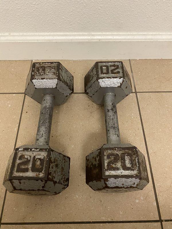 20lb dumb bells