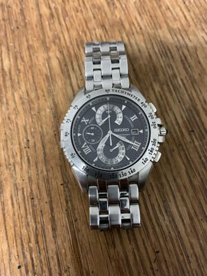 Discontinued Seiko Chrono for Sale in Mount Holly, NJ