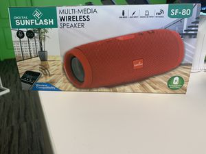 Digital sunflash speaker for Sale in Frostproof, FL
