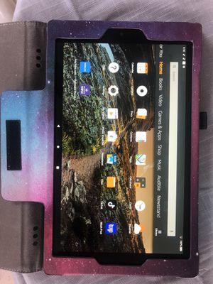 Amazon prime fire HD 10 inch screen tablet for Sale in Ocoee, FL