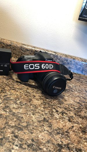 Canon EOS 60D w/ 18-135mm lens for Sale in Marcus, SD