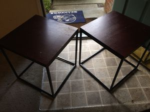End Tables - MOVING DAY! Needs to gooooo for Sale in Lynnwood, WA