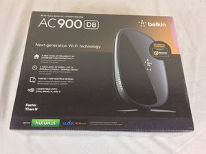 New Belkin AC 900 DB Wi-Fi Dual-Band AC Plus Gigabit Router for Sale in Severn, MD