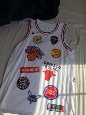 Supreme x Nike X NBA Authentic Jersey for Sale in Alexandria, VA