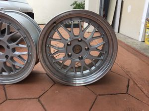 Porsche wheels/rims set of 4 for Sale in Loxahatchee, FL