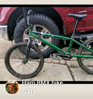 Haro BMX bike for Sale in Mount Gilead, OH