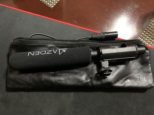 Azden SGM-1x professional shotgun microphone for Sale in Fremont, CA