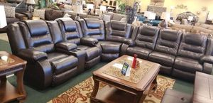 new ashley reclining sectional, easy payments, 12 mo no interest for Sale in Rancho Cucamonga, CA