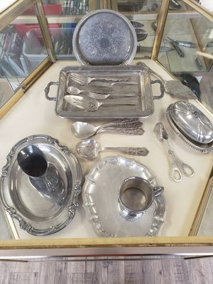 Silver Plate Service Set for Sale in Madison, NC
