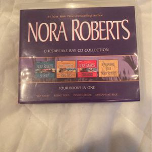 Nora Roberts Chesapeake Bay CD Collection for Sale in Fairfield, CT