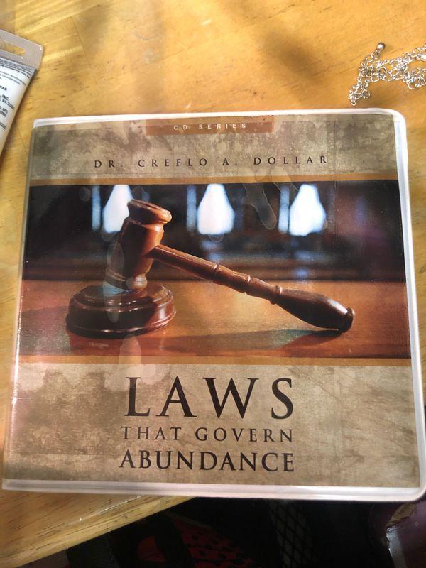 Laws that Govern Abundance by Dr Creflo Dollar