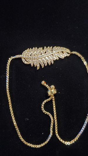 Animated Gold Leaf Bracelet for Sale in Los Angeles, CA