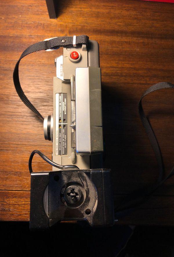 RARE Polaroid Automatic Land Camera Series 440 + OG Flash