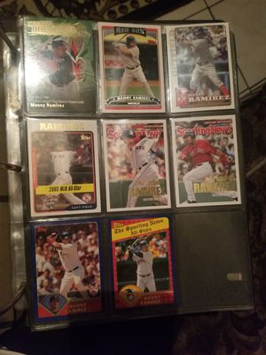 MANNY RAMIREZ mix baseball cards for Sale in Long Beach, CA